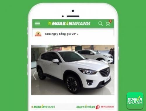 Xe ôtô Mazda CX-5 1 cầu 2.5 (4x2) - sản phẩm đang bán trên mạng xã hội MuaBanNhanh
