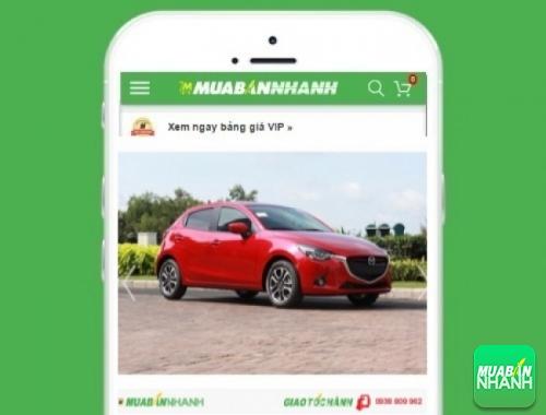 Xe ôtô Mazda 2 - sản phẩm đang bán trên mạng xã hội MuaBanNhanh