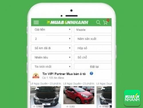Tìm mua xe Mazda 2 hiệu quả trên Mạng xã hội MuaBanNhanh