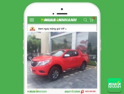 Xe ôtô Mazda BT50 - sản phẩm đang bán trên mạng xã hội MuaBanNhanh