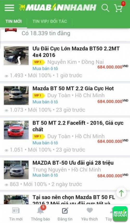 Giá các dòng xe Mazda 2 trên mạng xã hội MuaBanNhanh