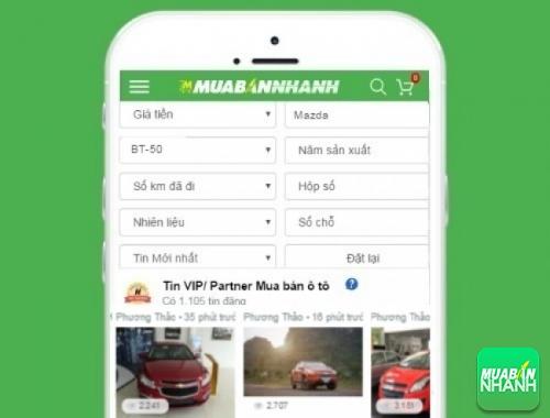 Tìm mua xe Mazda BT50 hiệu quả trên Mạng xã hội MuaBanNhanh