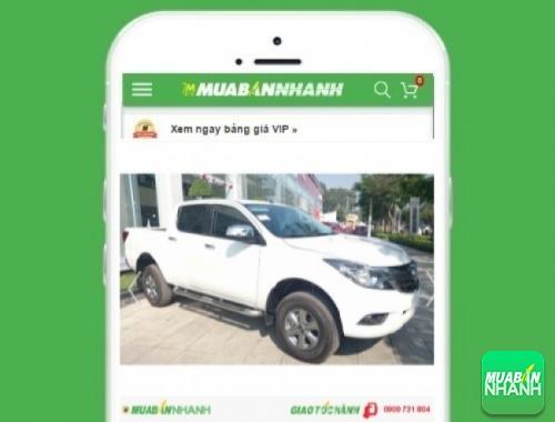 Xe ôtô Mazda BT50 số sàn 2.2L - sản phẩm đang bán trên mạng xã hội MuaBanNhanh