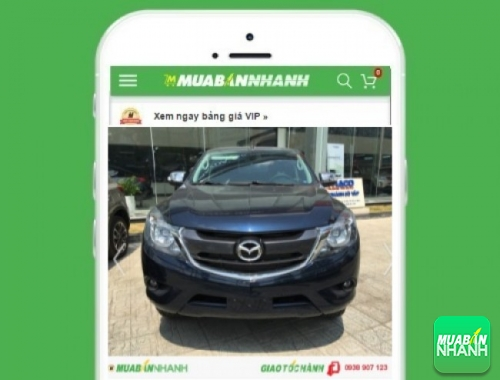 Xe ôtô Mazda BT50 số tự động 2.2L (4x2) - sản phẩm đang bán trên mạng xã hội MuaBanNhanh