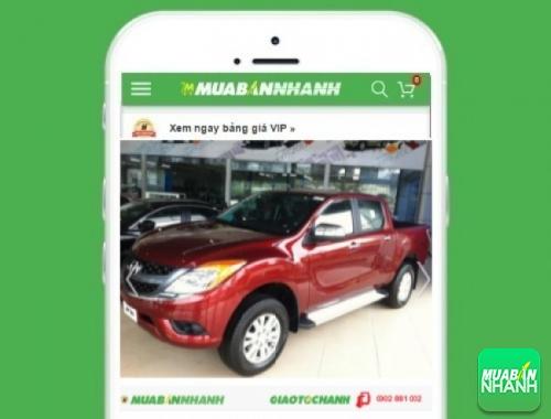 Xe ôtô Mazda BT50 số tự động 3.2L (4x4) - sản phẩm đang bán trên mạng xã hội MuaBanNhanh