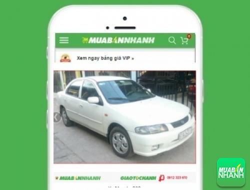 Xe ôtô Mazda 323 - sản phẩm đang bán trên mạng xã hội MuaBanNhanh