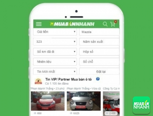 Tìm mua xe Mazda 323 hiệu quả trên Mạng xã hội MuaBanNhanh