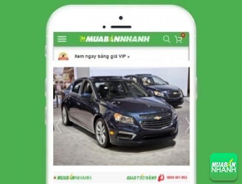 Xe ôtô Chevrolet - sản phẩm đang bán trên mạng xã hội MuaBanNhanh