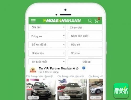 Tìm mua xe Chevrolet hiệu quả trên Mạng xã hội MuaBanNhanh