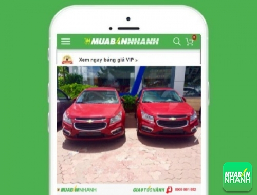 Xe ôtô Chevrolet Cruze - sản phẩm đang bán trên mạng xã hội MuaBanNhanh