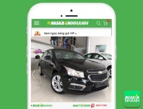 Xe ôtô Chevrolet Cruze LTZ (số tự động) - sản phẩm đang bán trên mạng xã hội MuaBanNhanh