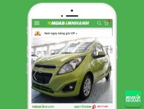 Xe ôtô Chevrolet Spark - sản phẩm đang bán trên mạng xã hội MuaBanNhanh