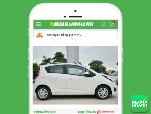Xe ôtô Chevrolet Spark LS (số sàn) - sản phẩm đang bán trên mạng xã hội MuaBanNhanh