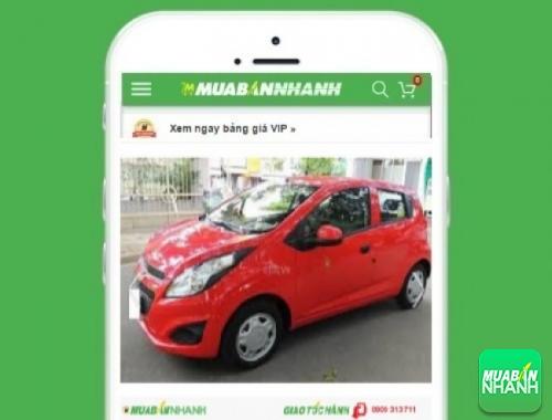 Xe ôtô Chevrolet Spark LTZ (tự động) - sản phẩm đang bán trên mạng xã hội MuaBanNhanh