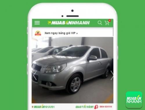 Xe ôtô Chevrolet Aveo - sản phẩm đang bán trên mạng xã hội MuaBanNhanh