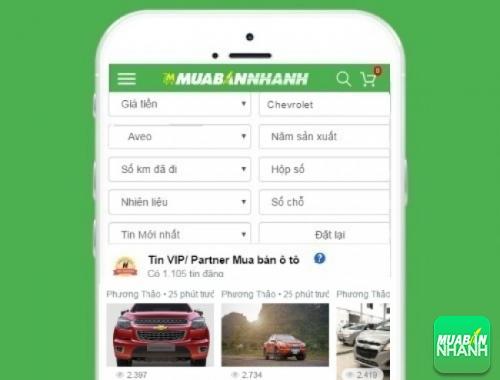 Tìm mua xe Chevrolet Aveo hiệu quả trên Mạng xã hội MuaBanNhanh