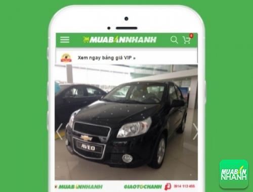 Xe ôtô Chevrolet Aveo LT 1.5 MT - sản phẩm đang bán trên mạng xã hội MuaBanNhanh