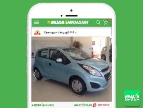 Xe ôtô Chevrolet Spark Van - sản phẩm đang bán trên mạng xã hội MuaBanNhanh