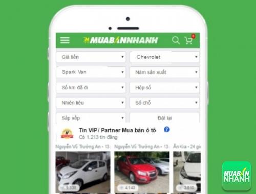 Tìm mua xe Chevrolet Spark Van hiệu quả trên Mạng xã hội MuaBanNhanh