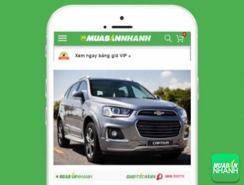 Xe ôtô Chevrolet Captiva - sản phẩm đang bán trên mạng xã hội MuaBanNhanh