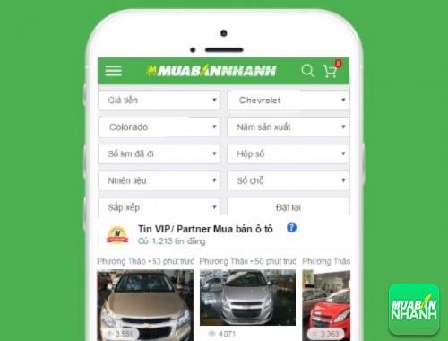 Tìm mua xe Chevrolet Colorado hiệu quả trên Mạng xã hội MuaBanNhanh