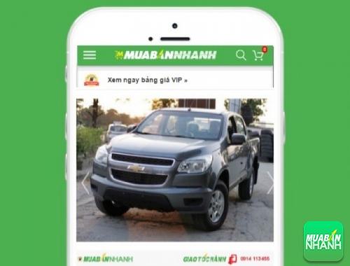 Xe ôtô Chevrolet Colorado LTZ 2.8 (số sàn 4x4) - sản phẩm đang bán trên mạng xã hội MuaBanNhanh