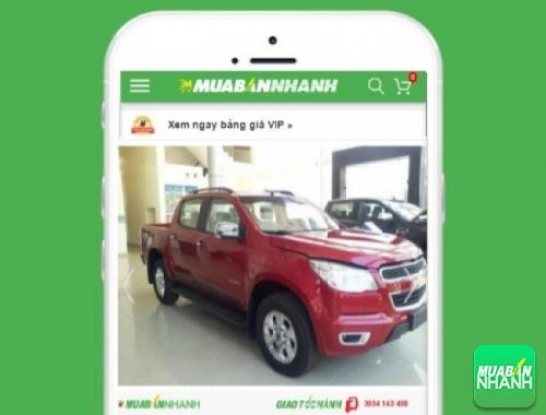Xe ôtô Chevrolet Colorado LT 2.5 (số sàn 4x4) - sản phẩm đang bán trên mạng xã hội MuaBanNhanh