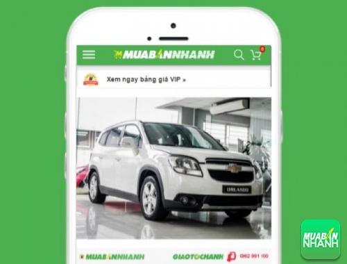 Xe ôtô Chevrolet Orlando - sản phẩm đang bán trên mạng xã hội MuaBanNhanh