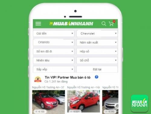 Tìm mua xe Chevrolet Orlando hiệu quả trên Mạng xã hội MuaBanNhanh