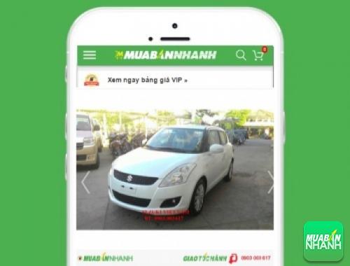Xe ôtô Suzuki Swift - sản phẩm đang bán trên mạng xã hội MuaBanNhanh