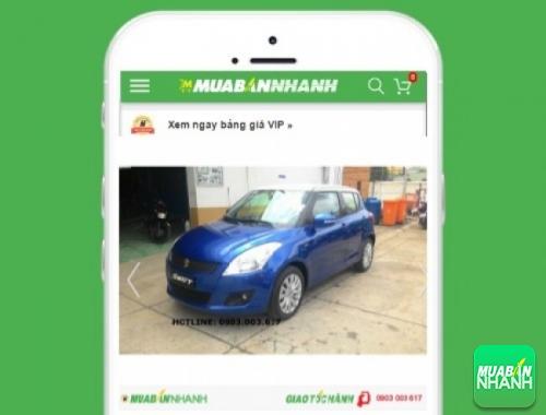 Xe ôtô Suzuki Swift Special - sản phẩm đang bán trên mạng xã hội MuaBanNhanh