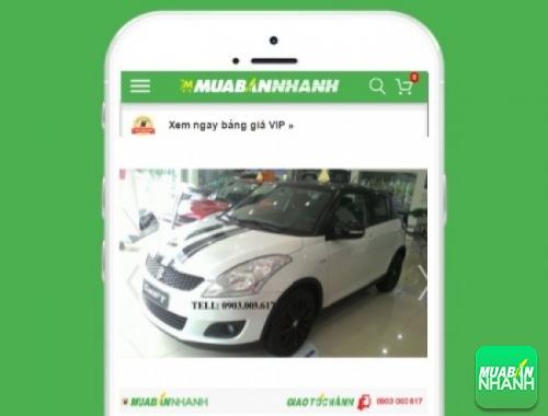 Xe ôtô Suzuki Swift Hatchback - sản phẩm đang bán trên mạng xã hội MuaBanNhanh