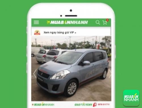 Xe ôtô Suzuki Ertiga - sản phẩm đang bán trên mạng xã hội MuaBanNhanh