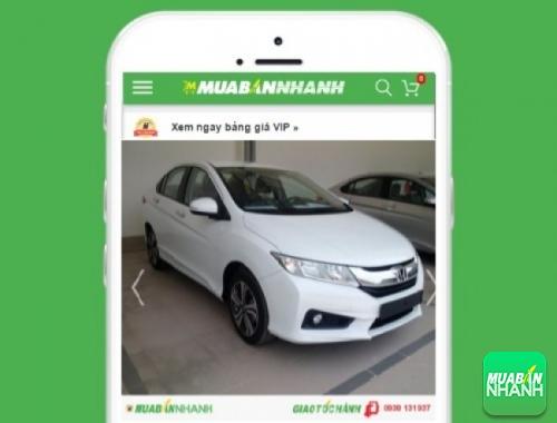 Xe ôtô Honda - sản phẩm đang bán trên mạng xã hội MuaBanNhanh