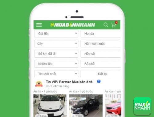 Tìm mua xe ôtô Honda City hiệu quả trên Mạng xã hội MuaBanNhanh