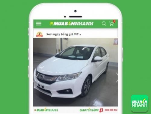 Xe ôtô Honda City - sản phẩm đang bán trên mạng xã hội MuaBanNhanh