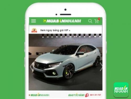 Xe ôtô Honda Civic - sản phẩm đang bán trên mạng xã hội MuaBanNhanh
