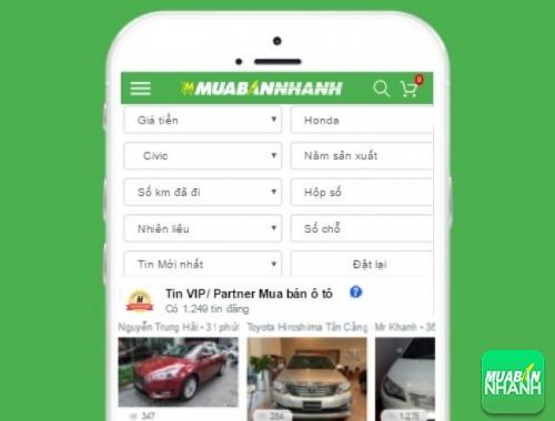 Tìm mua xe ôtô Honda Civic hiệu quả trên Mạng xã hội MuaBanNhanh