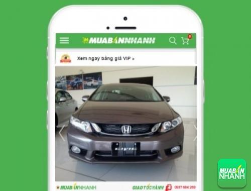 Xe ôtô Honda Civic 2.0 AT - sản phẩm đang bán trên mạng xã hội MuaBanNhanh