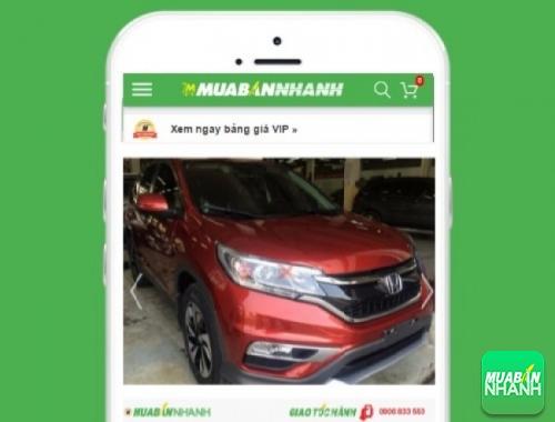 Xe ôtô Honda CR-V - sản phẩm đang bán trên mạng xã hội MuaBanNhanh