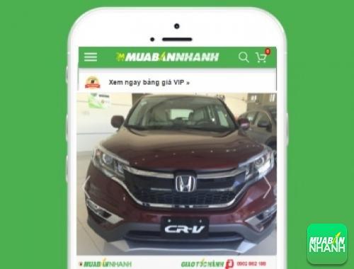 Xe ôtô Honda CR-V 2.0 AT - sản phẩm đang bán trên mạng xã hội MuaBanNhan