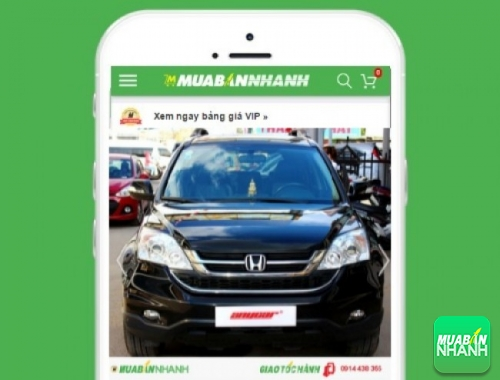 Xe ôtô Honda CR-V 2.4 AT - sản phẩm đang bán trên mạng xã hội MuaBanNhanh