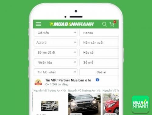 Tìm mua xe ôtô Honda Accord hiệu quả trên Mạng xã hội MuaBanNhanh