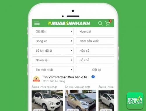 Tìm mua xe ôtô Hyundai hiệu quả trên Mạng xã hội MuaBanNhanh