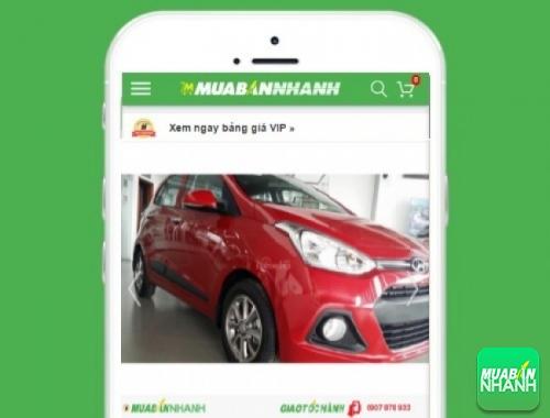 Xe ôtô Hyundai Grand i10 - sản phẩm đang bán trên mạng xã hội MuaBanNhanh