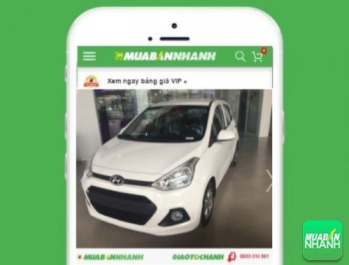 Xe ôtô Hyundai Grand i10 1.0 MT - sản phẩm đang bán trên mạng xã hội MuaBanNhanh