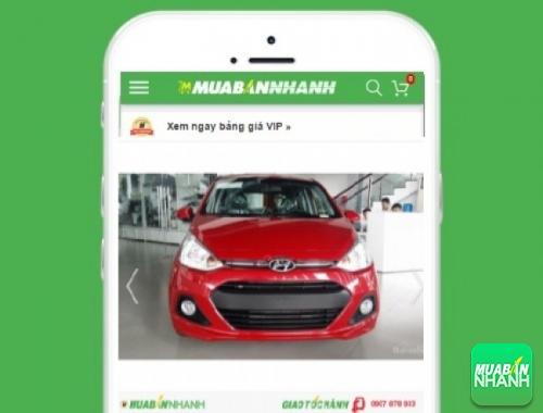 Xe ôtô Hyundai Grand i10 1.2 AT - sản phẩm đang bán trên mạng xã hội MuaBanNhanh