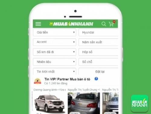 Tìm mua xe ôtô Hyundai Accent hiệu quả trên Mạng xã hội MuaBanNhanh
