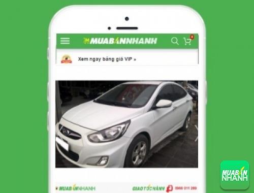 Xe ôtô Hyundai Accent 1.4 AT sedan - sản phẩm đang bán trên mạng xã hội MuaBanNhanh