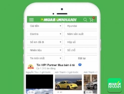 Tìm mua xe ôtô Hyundai Elantra hiệu quả trên Mạng xã hội MuaBanNhanh